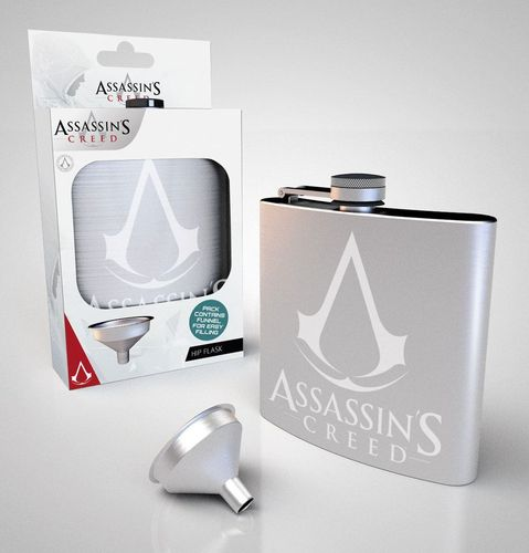 Assassin's Creed Flachmann Logo