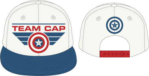 Captain America Civil War Baseball Cap Team Cap