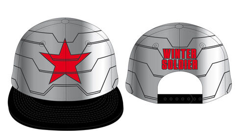 Captain America Civil War Baseball Cap Winter Soldier
