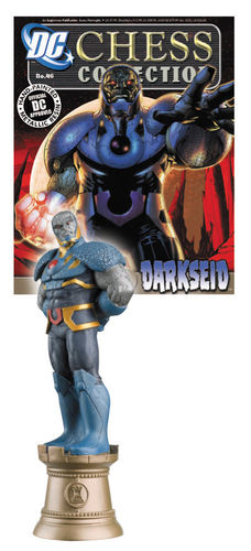 DC Chess Collection Magazin mit Schachfigur #46 Darkseid (Schwarzer Turm)