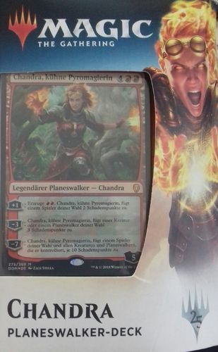 Magic the Gathering Dominaria Planeswalker Deck Chandra