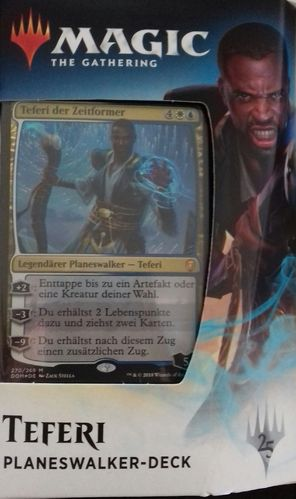 Magic the Gathering Dominaria Planeswalker Deck Teferi