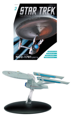 Star Trek Official Starships Collection Magazin mit Modell #02 USS Enterprise NC