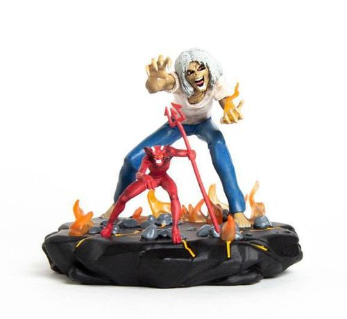Iron Maiden Legacy of the Beast PVC Statue 1/24 Number of the Beast Eddie 10 cm (Verpackung Beschädi