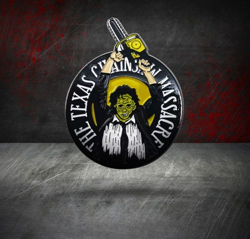 Texas Chainsaw Massacre Ansteck-Pin Limited Edition