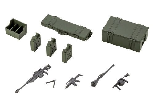 Hexa Gear Zubehör-Set für Plastic Model Kits 1/24 Army Container Set 8 cm